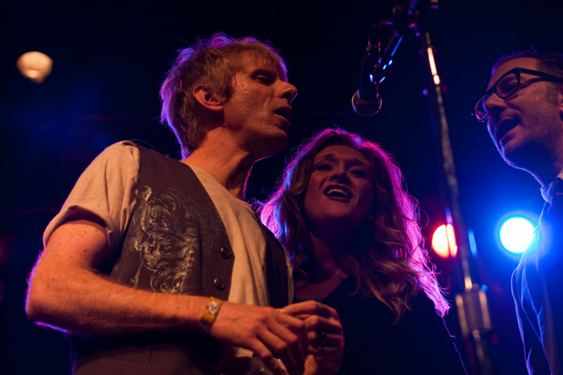 "First Ave Apr 19, 2014 with Ashleigh Still and Adam Levy.  Joining Farewell Milwaukee for ""Helpless""."