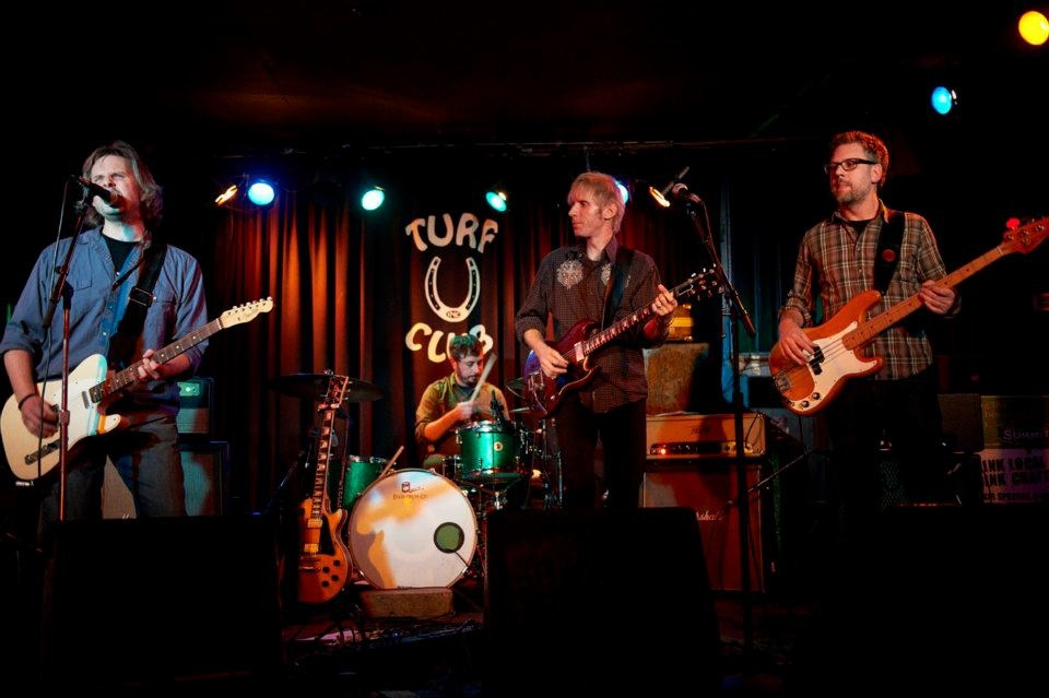 Pill Hill CD release party at the Turf Club 11/2/2012 - Dan Fowlds, Judd Hildreth, Ben Glaros, Heath Henjum