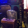 "Slim Dunlap's Les Paul and my '53 Deluxe used on the Happy Rooster's version of ""Cooler Then"""